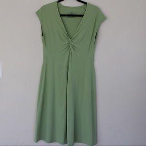 Patagonia Seabrook Bandha Magenta Green Dress